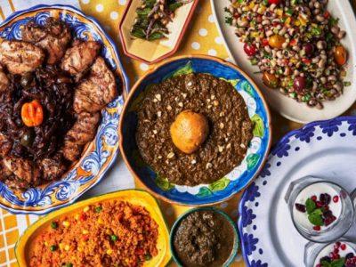 teranga food spread